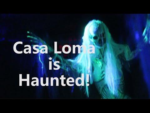 Casa Loma Legends of Horror 2016 HAPPY HALLOWEEN!!!!!