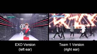 EXO - Call Me Baby (Produce 101 'Team 1' Cover Comparison) Mp3