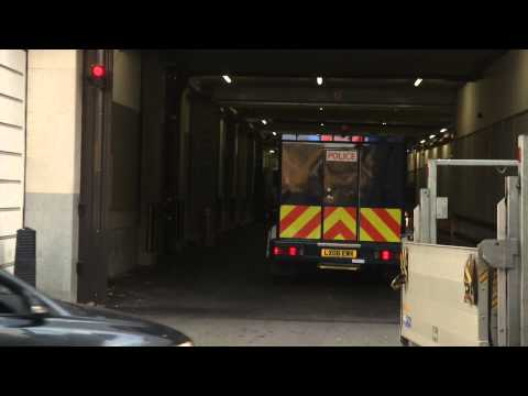 Terror Suspects Arrive At Westminster Magistrates' Court