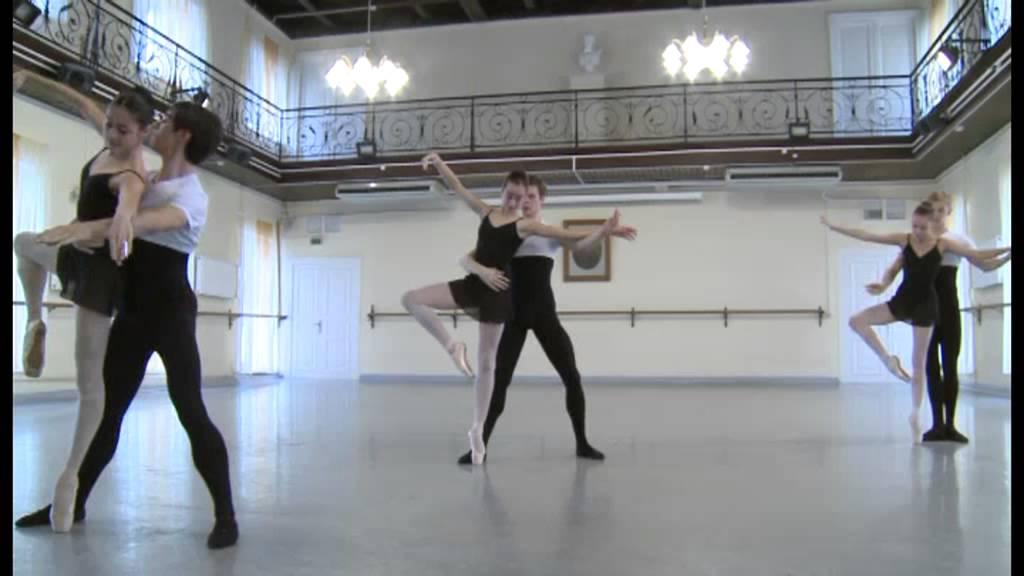 Vaganova Ballet Academy, Pas De Deux Exam 2013, Zaklinsky, part 1. Anastasia Shevtsova