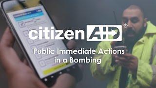 CitizenAID Public Immediate Actions Film: Improvising a Double Tourniquet