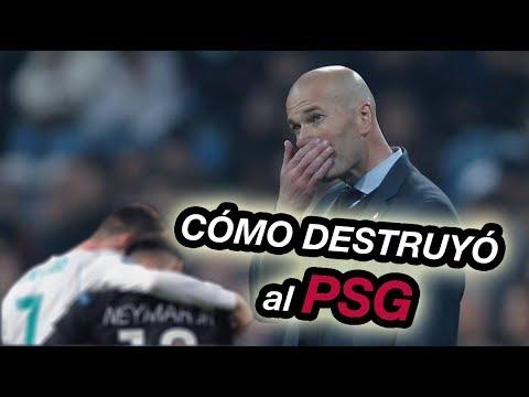 Como Zidane Remonto el Partido - Análisis Táctico Real Madrid vs PSG 3-1 Uefa Champions League