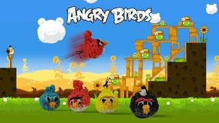 Rainbow Loom Angry Birds 3D (Red Bird) Charms - How to Loom Bands tutorial