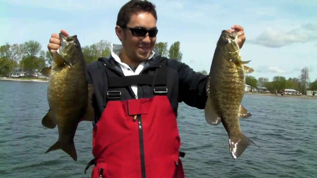 Trophy smallmouth bass fishing in black river bay new york for Fishing in new york