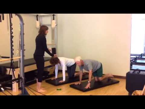 Pilates for Total Hip Replacement - YouTube