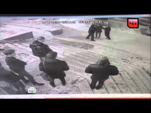 Избиение полицейских. В