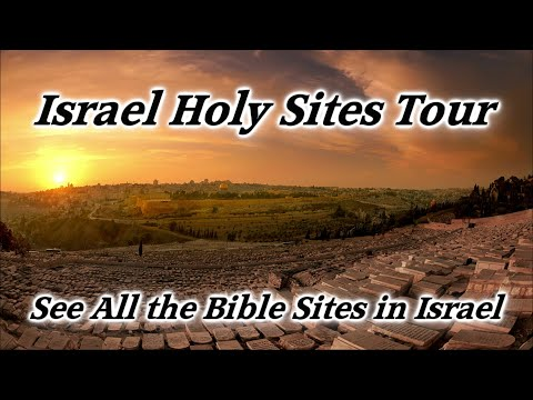 Israel Holy Sites Tour: Christian Sites, Bible Tour of Israel, Holy Land Travel, Tourist Attractions