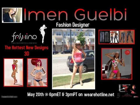 Keith Harris Show/GN talks with Fashion Designer Imen Guelbi