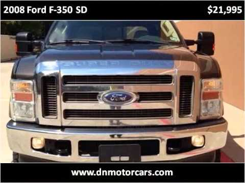 2008 Ford F 350 Sd Used Cars Houston Tx Youtube