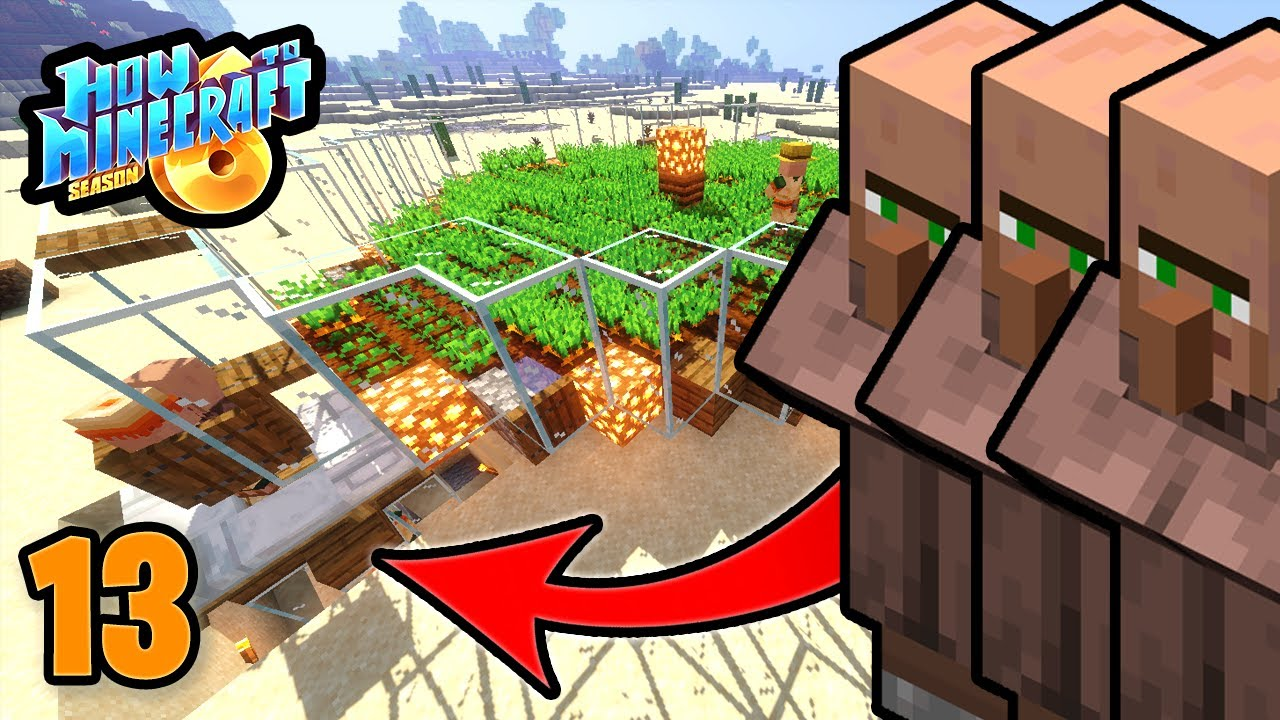 INFINITE VILLAGERS (but at what cost?) | How to Minecraft: Season 6 SMP  (H6M) | Ep  13