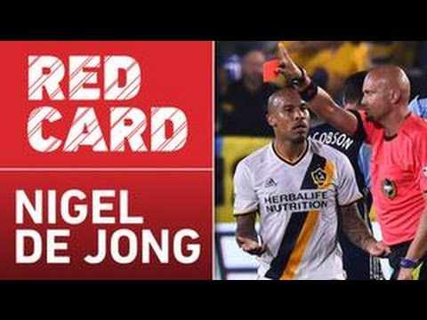 Nigel De Jong Red Card vs Vancouver Whitecaps