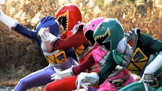 Power Rangers Dino Charge Episode 4 Review - Return of the Caveman