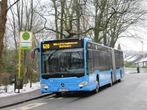 [Sound] Bus Mercedes O 530 G (C2) (Wagennr. 1266) der WSW mobil GmbH, Wuppertal