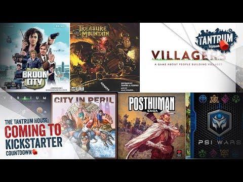 Upcoming Board Games Kickstarter May 2018 (1st Half)