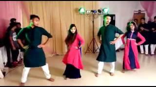 Gallan Goodiyaan, , Dance at Sharna apu's Holud