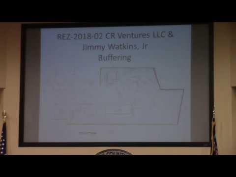 6 b. REZ-2018-02, E-A and C-C to E-A and PD-R, 4391 Rocky Ford Rd, ~72 acres