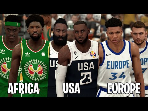 What If NBA Teams Were Based On Players Birthplace? |NBA 2K20