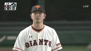 巨人岩隈、日本復帰初登板(2軍戦)
