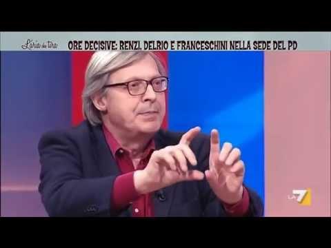 Vittorio Sgarbi: 'Renzi è tecnicamente un figlio di puttana'