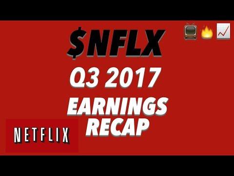 Netflix Q3 '17 Earnings Recap