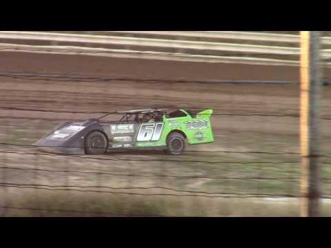 Hummingbird Speedway (9-15-18): BWP Bats Super Late Model Heat Race #1