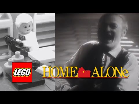 LEGO Home Alone: Angels With Filthy Souls | Stop-Motion Animation