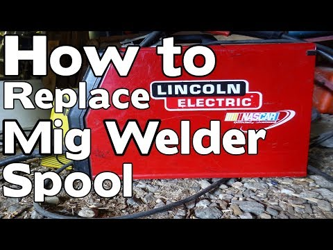 How to replace welding spool for your Mig Welder, Lincoln electric #98