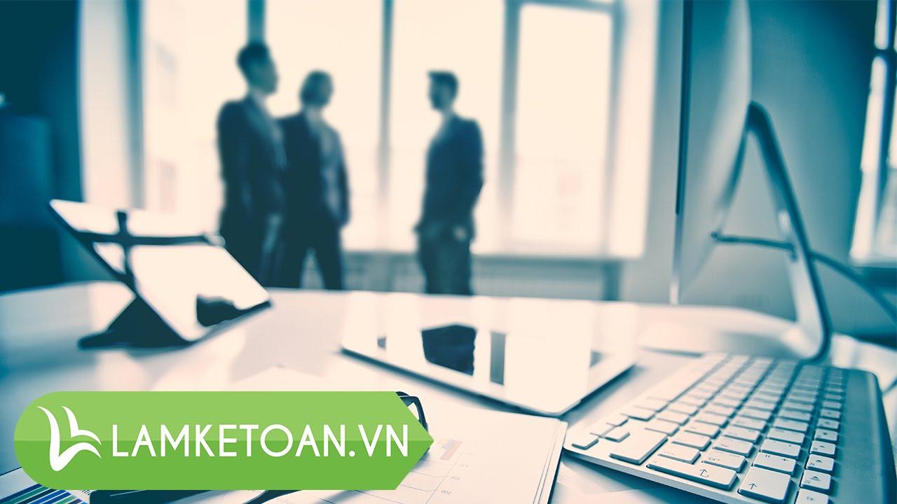 [Kế toán thuế – P12]  Cách lập báo cáo tài chính theo quyết định 48 – Lamketoan.vn
