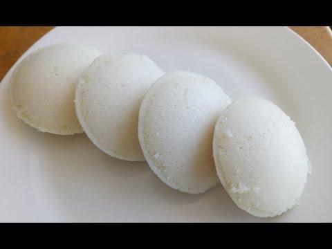 Soft and Spongy Idli Recipe