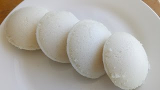 Soft and Spongy Idli Recipe