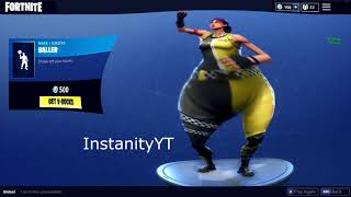 FORTNITE BALLER DANCE EMOTE BASS BOOSTED