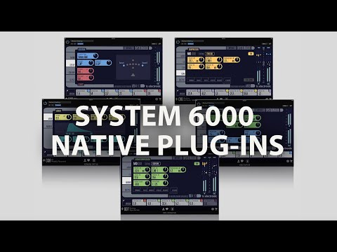 A MODERN CLASSIC - RE-IMAGINED. TC ELECTRONIC SYSTEM 6000 NATIVE PLUG-INS