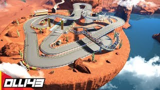 Perfecting the Worlds Tallest Go Kart Track!! (Planet Coaster Area 43)