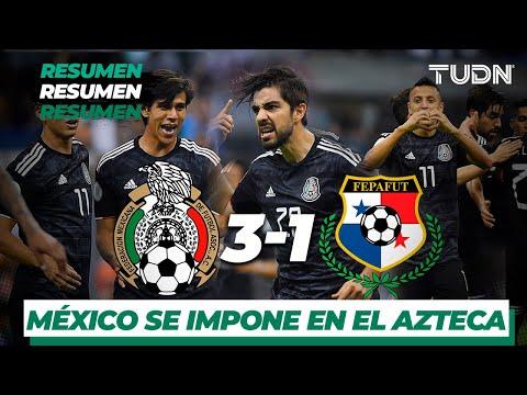 El Gallo Por La Mañana - Resumen y Goles | México 3 - 1 Panamá de la CONCACAF