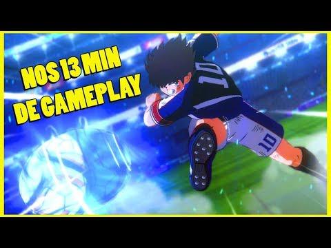 CAPTAIN TSUBASA - Notre gameplay du jeu de foot arcade Olive & Tom (PS4)