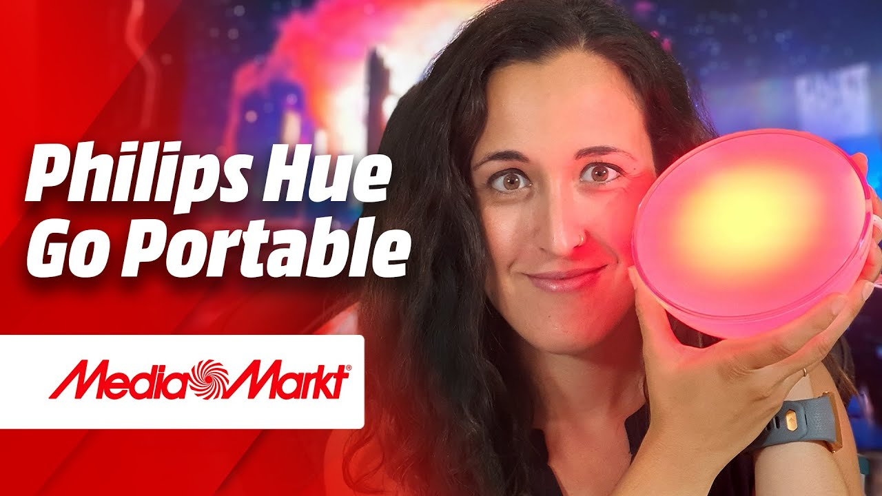 💡 Review Philips Hue Go Portable. ¡Llévatela donde quieras! 💡