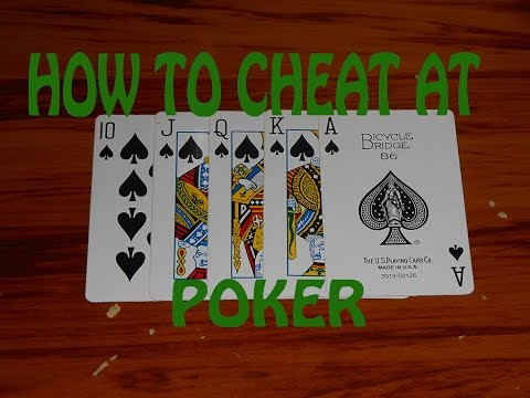How To Cheat At Poker!!!!!!!! (Interactive card trick)