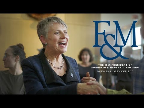 Meet the 16th President of Franklin & Marshall College