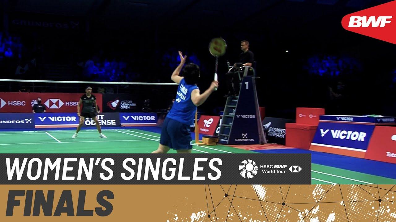 Download VICTOR Denmark Open 2021 | An Seyoung (KOR) [5] vs Akane Yamaguchi (JPN) [2] | Finals