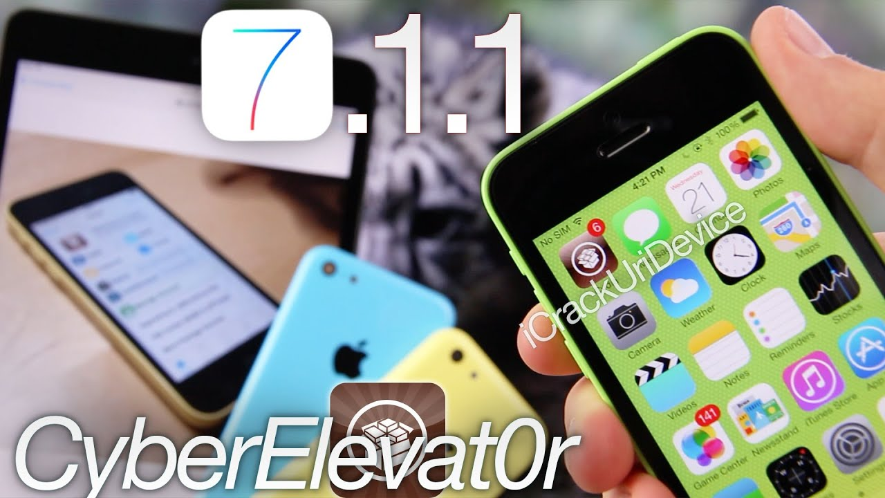 iphone 6 plus jailbreak ios 7 1 1 jailbreak untethered update cyberelevat0r 3202