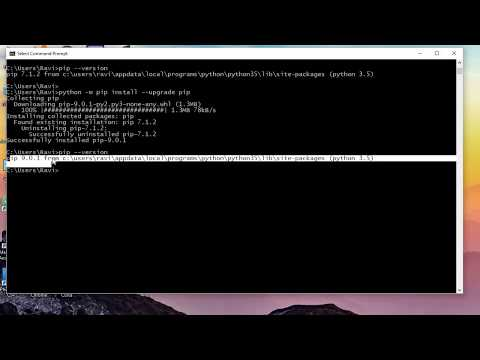 How To Upgrade Python Pip In Windows 10