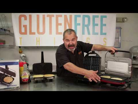 Versatile, easy recipe for yummiest gluten free vegan waffles, pancakes, Italian pizzelles - EDITED