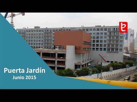 Puerta jard n residencial junio de 2015 - Puertas para jardin ...