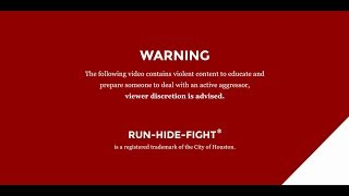 Run. Hide. Fight.® at Indiana University