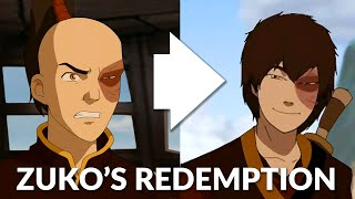 Why Zuko's redemption arc succeeds where others fail
