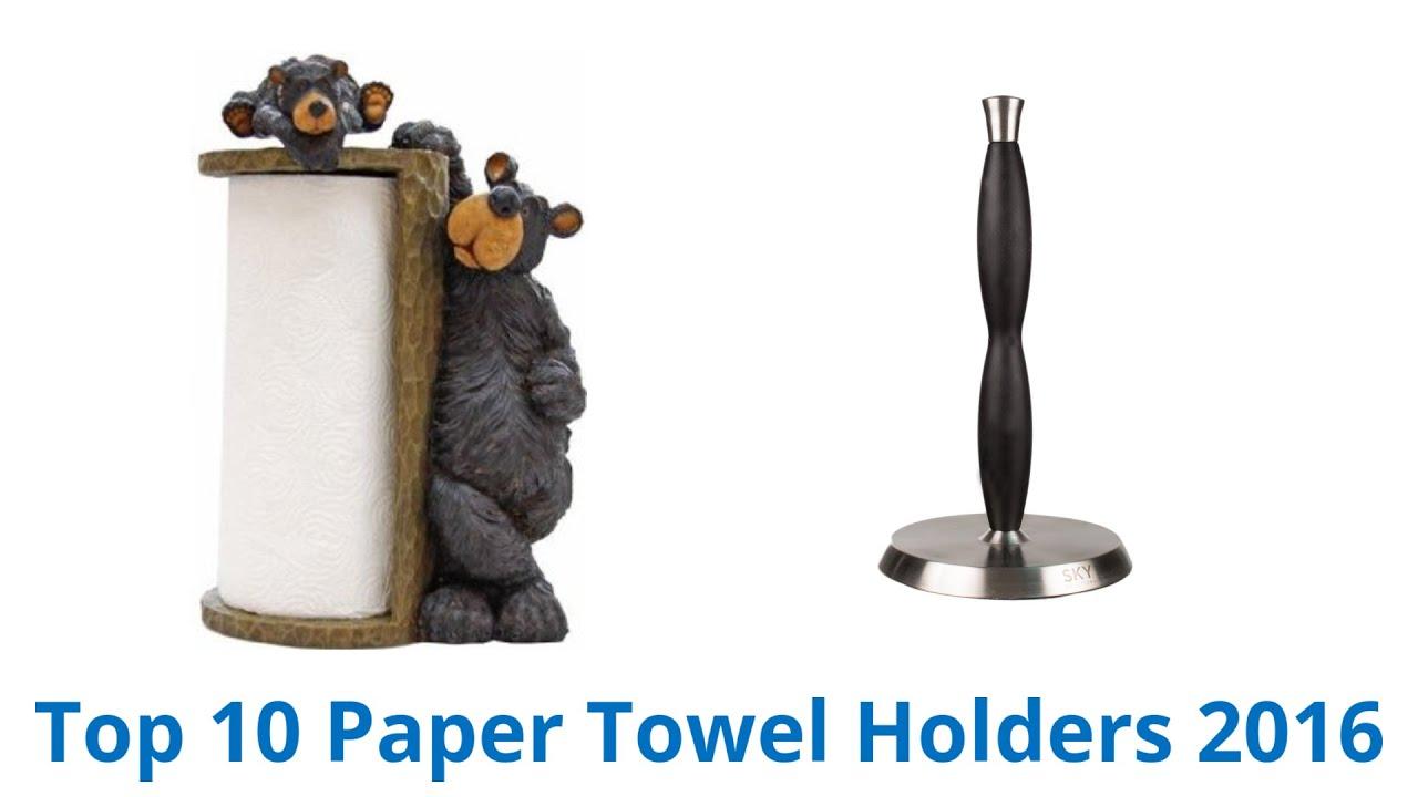 10 Best Paper Towel Holders 2016