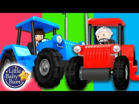 Tractor Song | Vehicle Song  | + More Nursery Rhymes & Kids