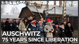 Remembering Auschwitz: 75 years since camp's liberation