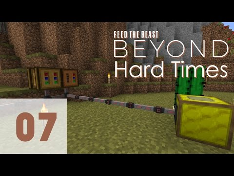 FTB Beyond Hard Times Ep 07 - Forestry Bees