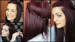 Лесна ежедневна прическа - венец от коса | Предизивкателство! Разкрий своята женственост